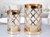 Размывание металлический держатель при свечах, дома при свечах держатель