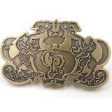 Distintivo su ordinazione dell'oro dell'oggetto d'antiquariato del metallo per la promozione
