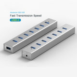 Эпицентр деятельности High Speed USB3.0 алюминия 7 Port почетный для тетради Mac