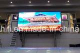P3.91 stade pleine couleur intérieure Affichage LED de location de rendement Adveitising Affichage boîtier en aluminium moulé sous pression