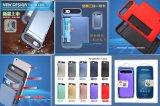 PC+TPU 3 in 1 mit schließen Karten-intelligenten Handy-Fall für iPhone an
