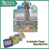 高速Multiwallは機械を作る紙袋を底貼った(ZT9802S及びHD4916BD)