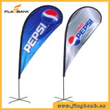 Exposition Aluminium Portable Beach Flag Display Banner Stand