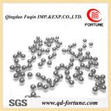 La bola de acero inoxidable de bolas de acero cromo// la bola de acero al carbono