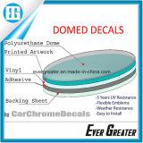 Domo personalizada Etiqueta, Burbuja de cúpula suave adhesivo pegatina, adhesivos de resina de poliuretano personalizadas Custom Pegatina Domo 3D.