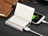 Super Slim 6000 mAh Power Bank para iPhone Todos os smartphones e tablets