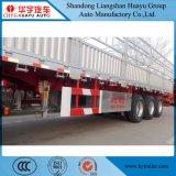 acciaio di 50ton 3axles e palo dell'alluminio/carico/della rete fissa camion rimorchio semi