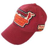 Красивый Папа Red Hat с логотипом Applique Gj1702b