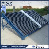Riscaldatori di acqua solari pressurizzati del raggruppamento del condotto termico per il riscaldamento del raggruppamento