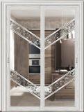 6061 ou 6063 Fenêtres et portes coulissantes en aluminium