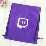 Aangepaste Polyester 210d Drawstring Winkelende Bag M.Y.D-001