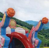 子供の練習のための膨脹可能なカスタマイズされたバスケットボールコート