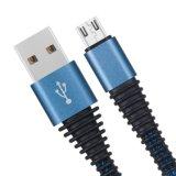 Нейлоновые линии экранирующая оплетка кабеля USB для Android