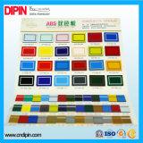 Gravura ABS Plástico ABS Folha de cor duplo