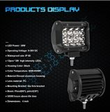 """4 """" 72W LED車ライト、軽いUTVのトラック、ATV、SUVのジープのために作業は防水する"""