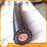 UL Listed UL1072 15 Fsal Al/Trxlpe/Sws/PVC Mv 105 распределения силы Kv кабеля Urd