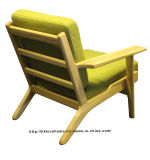 커피 여가 Hans 현대 Wegner 판자 나무로 되는 1개의 Seater 소파