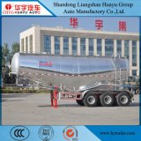 35cbm Aluminium Alloy Tanker Semi Trailer for Bulk Cement/Powder Material/Cement-Discharging Transport