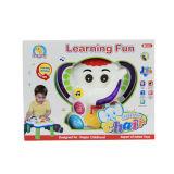 만화 코끼리 Leerning는 플라스틱 장난감 (H0001171)를