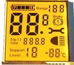 Linhas do módulo 16X4 do indicador do LCD dos caráteres