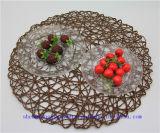 Articoli per la tavola caldi della cristalleria modellato della lastra di vetro della lastra di vetro di vendita