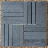 黒い/灰色の玄武岩のモザイク、モザイク・タイルおよび石のモザイク