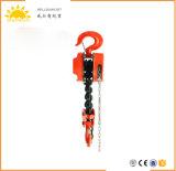 Industrielles Gerät Hsz Kettenblock-Ketten-Riemenscheiben-Block mit Kette der Eingabe-G80