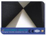Painel acústico decorativo de fibra de poliéster 3D da conferência