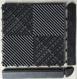 Openlucht Gebruik en de Eenvoudige Tegels van de Vloer van de Garage van de Oppervlaktebehandeling van de Kleur Plastic