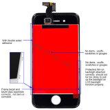 Digitalizador LCD do telefone celular peças sobresselentes para iPhone LCD 4