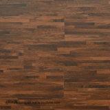 Form Entwurfs-trockener rückseitiger Luxuxvinylfliese Belüftung-Fußboden für Innenministerium-Werbungs-Platz