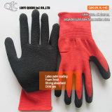 K-144 7 jauges Latex Acrylique boucle ondulée des gants de sécurité de travail