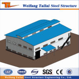 Weifang Cut off Steel Structure Prefabricated Building Warehouse Project