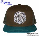 Chapéu azul feito sob encomenda do caminhão/chapéu do engranzamento no estilo do Snapback