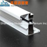 La poudre neuve de modèle de première vente enduite a expulsé le guichet en aluminium de tissu pour rideaux de profils d'aluminium
