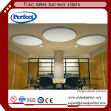 Panneau décoratif de /Suspended Cenling de plafond de cloison acoustique en verre de fibre