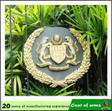 Oro Plated 3D Metal Emblem