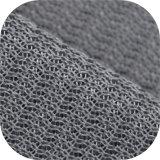 A1649 полимерная прозрачный шелк червь пищеварительный сэндвич сетка шаблон сетчатая поверхность ткани из Китая производство