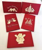 Fabricante China navidad Tarjetas de Felicitación de cumpleaños Tarjetas de Felicitación ##Ou01