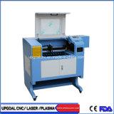 Pequeño 90W 500*400mm Máquina de corte láser de CO2 con sistema de control Ruida