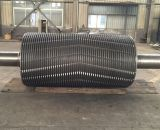 F114 SAE1045 AISI1045n forja o Eixo do Pinhão da Engrenagem de aço