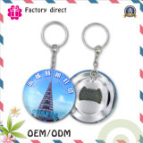 SGS Factory 50m m Custom Print Logo Tinplate Keychain Bottle Opener