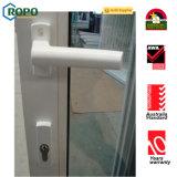 De witte Schuifdeur van het Glas van de Kleur UPVC/PVC Dubbele