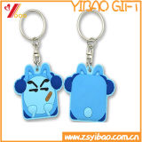 Trousseau de clés fait sur commande de PVC d'animal pour le cadeau (YB-LY-K-04)
