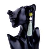 De nieuwe Goedkope Elegante Retro Vrouwelijke Oorring van de Leeswijzer Ccb van de Kunst Kristal Beslagen Lange