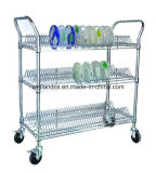 Высокое качество 3 слоя PCB ESD SMT Carts вагонетка для фабрики