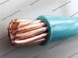 UL het Aluminium van het certificaat of Draad van de Bouw Thhn van de Schede van de Isolatie van pvc van de Leider van het Koper de Nylon Elektro