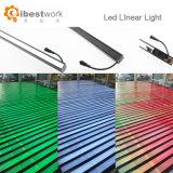 Indicatore luminoso di striscia lineare di controllo 12W del pixel di RGB dell'indicatore luminoso di DMX LED