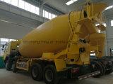 Caminhão cúbico do misturador concreto do caminhão 8X4 do misturador dos medidores de HOWO 12