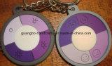 Keychain adapté aux besoins du client promotionnel avec le logo